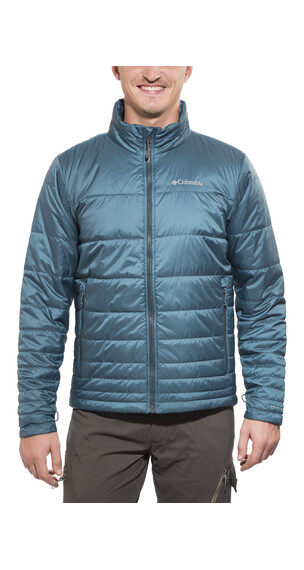 Columbia Go To Jacket Men everblue/night shadow zips